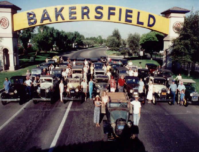 Bakersfield Model-A Club, 1951