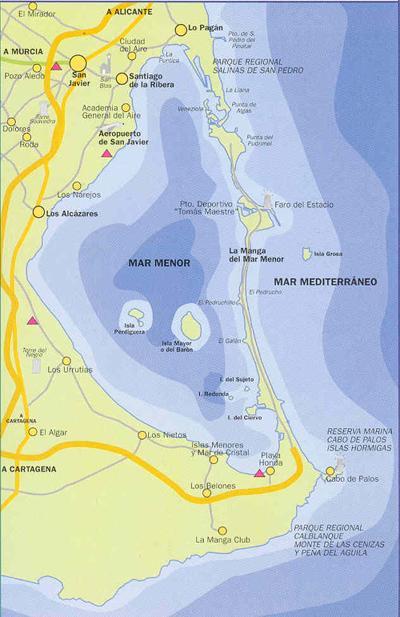 Ла манга испания на карте гугл