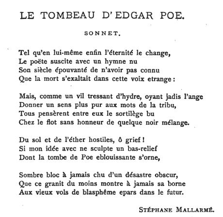 mallarme-poe-sonnet