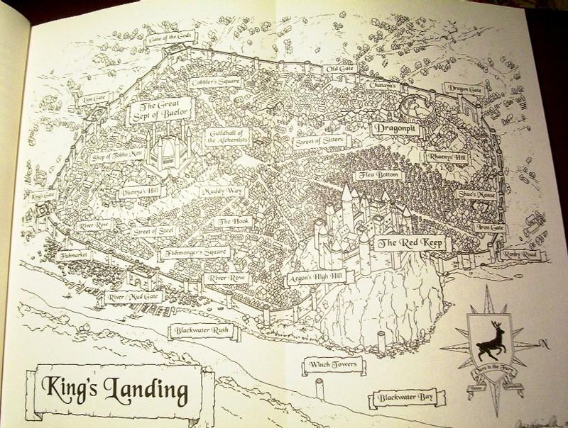 Карти на Вестерос и отвъд Kingslanding