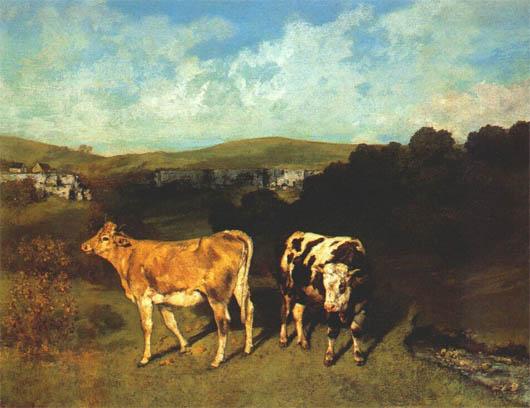 a cow as a cow