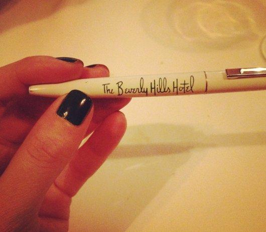 beverly hills hotel pen