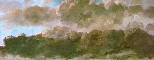 courbet the clouds