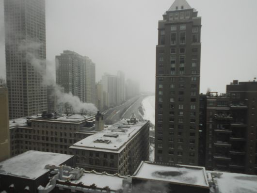 chicago office view