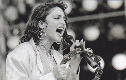 perfoming at live aid