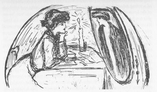 self-portrait-in-her-high-school-yearbook-1903