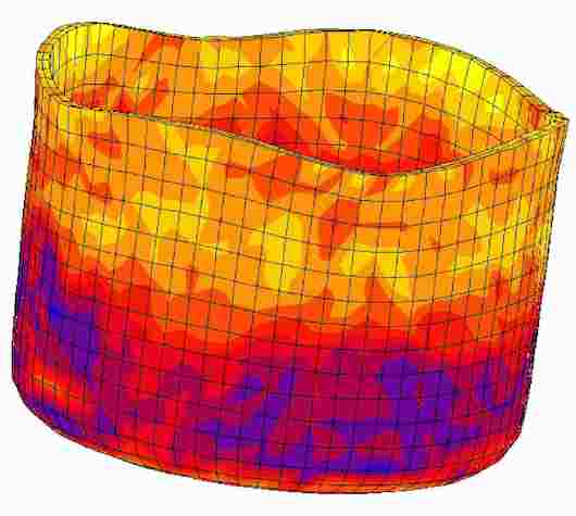 Max Planck Institute crystal plasticity finite element simulation cup drawing metal forming 09